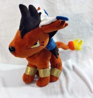 Final Fantasy - Red XIII custom plush by Kitamon