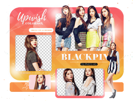 BLACKPINK PNG PACK #13/PUMA by Upwishcolorssx