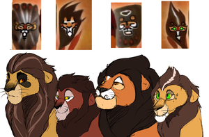 The Lion Guard (WIP) by Soch-Chy