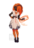 [closed] Adopt - Tangerine Alchemist by fionadoesadopts