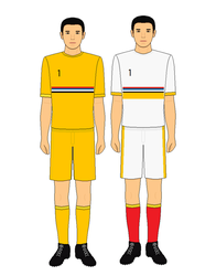 Manchukuo Football Kit by kyuzoaoi