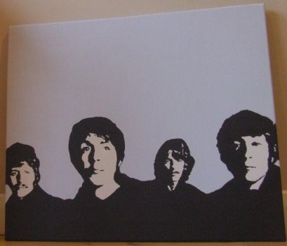 The Beatles 2 by ElephantStoned