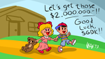 SGDQ2017 - Earthbound by megawackymax