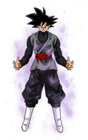Black Goku Aura by BardockSonic
