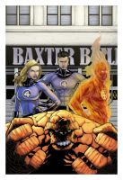 Fantastic Four - First Family by spidermanfan2099