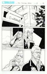Deb Daring Comics - inked page 3 by Darry