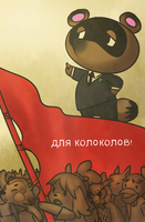 Comrade Nook leading the people by Morthern