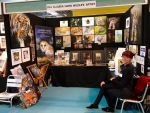 Busy doing art shows by Heliocyan