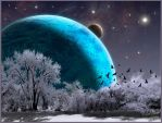Winter Planet by MichaelAtman