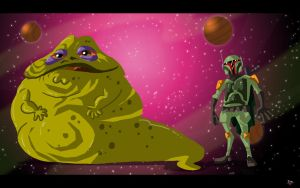 Jabba Fett by themico