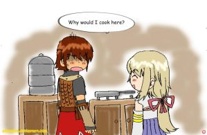 Rune Factory Frontier:Cooking by Pikaspirit