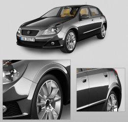 3d car rendering by Tom1979th