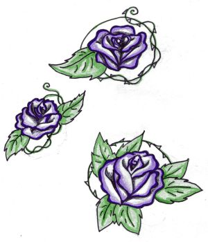 Rose Tat designs for amy by Animal-and-anime-lvr