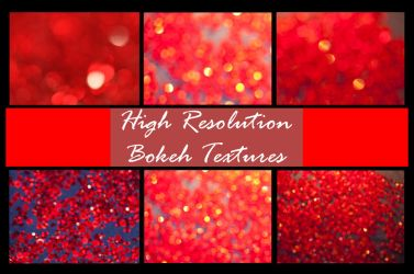 Hi Res Red Bokeh Pack by shhhhh-art-Stock