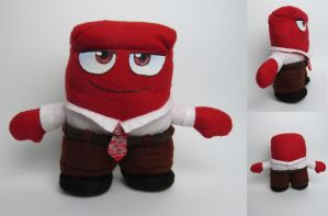 Anger (Inside Out) plush by tstelles
