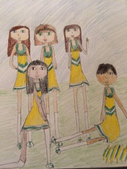 Eighth Grade Cheerleading Squad by MSExperience