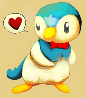 Piplup gift