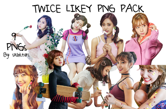 TWICE PNG Pack {Likey 2017} by soshistars
