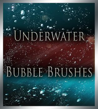 Underwater Bubble Brushes by MorganBW