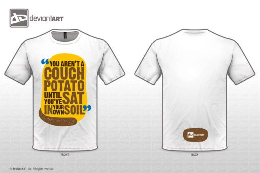 Couch Potato Tee by StooBainbridge