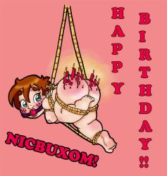 Nic Buxom's 4th Birthday! by FatBottomedGirl