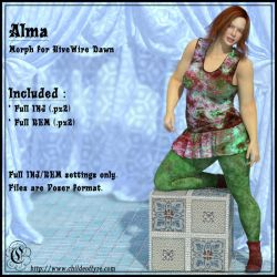 COF Alma (Poser) by Childe-Of-Fyre