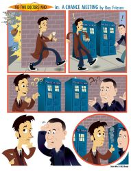 Doctor Who Cartoon by raisegrate