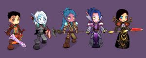 Wow SD character by Fanelia-Art