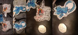 ammy and articuno keyrings