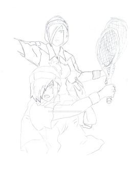 Prince of tennis fan art by StormSkirus