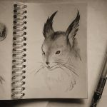 Instaart - Squirrel by Candra