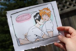 Kagehina AGAIN by Witch-Planet