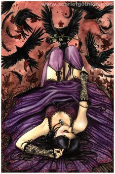 Lady Of Crows by Claudia-SG