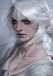 Ciri Portrait by Artgerm