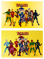 The Avengers - The Kree-Skrull War Era by Femmes-Fatales