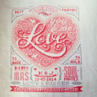 Wedding Sampler by passionfyre