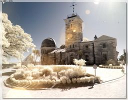 Sydney Observatory - IR by JohnK222