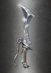 Barbarian Sword Concept 01 Final by RahByte