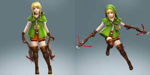 Hyrule Warriors Legends Linkle by gaming123456