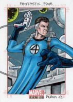Mr Fantastic - Marvel Bronze Age by tonyperna