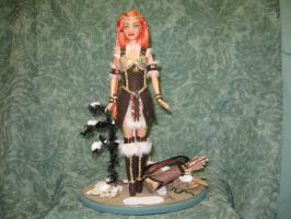 Warrior Muse OOAK Doll by Pixiecritter