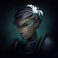 Guild Wars 2 Portrait Commissions - Yota by jylgeartooth