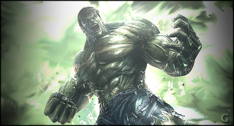 The Hulk by amelbg