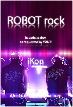ROBOT rock Wallpaper by kon