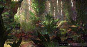 Eden Star Jungle Concept by gavinli