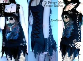 jack's nightmare mini dress by mariedark