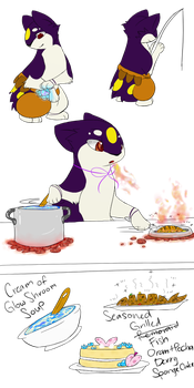 QQ / Monthly Challenge/ Time to cook by Celestial-Hearts