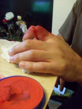 finger wound by pure1morning1scream