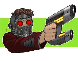 Star-Lord by SumtimesIplaytheFool