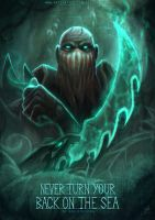 League of Legends | Pyke - The Bloodharbor Ripper by Red-Sinistra